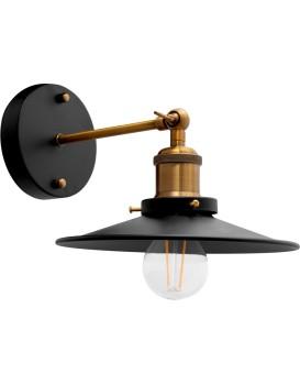 Nástěnná lampa PORTO KINKIET BLACK
