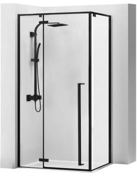 Sprchový kout Fargo 80x100 cm černý mat
