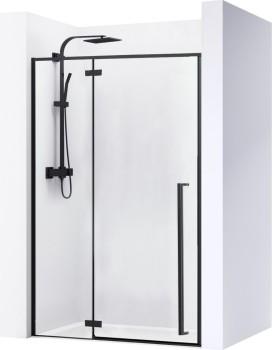 Sprchové dveře FARGO BLACK MAT 120 cm