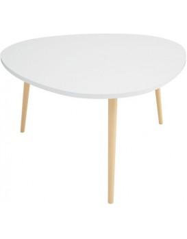 Konferenční stolek ve Skandinávském stylu S - bílý