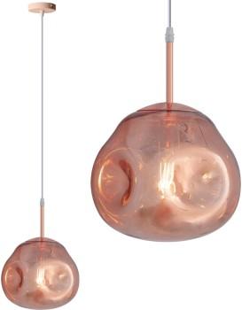 Stropní svítidlo TooLight Restre růžově zlatá