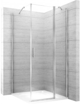 Sprchová kabina Rea Quest 80x100 cm transparentní
