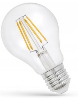 LED žárovka teplá E-27 230V 6W