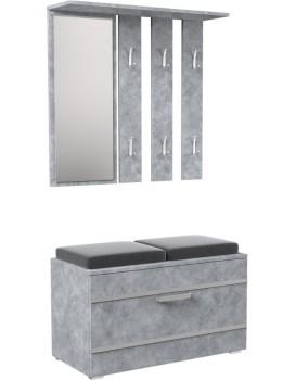 Předsíňová stěna OPAL II beton