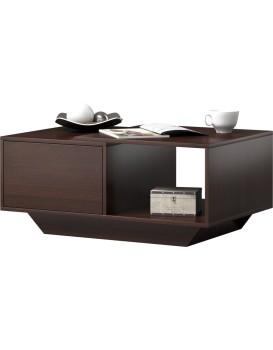 Konferenční stůl Alto tmavě hnědý