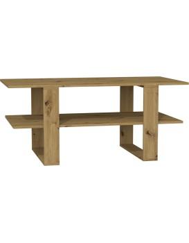 Konferenční stolek Adia 120cm hnědý