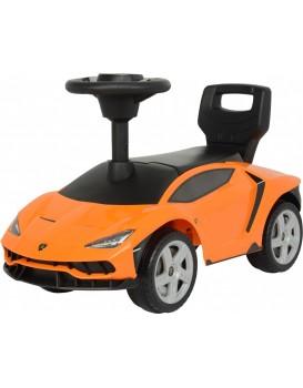 Dětské odrážedlo Lamborghini oranžové