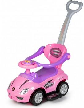 Dětské odrážedlo Deluxe 3v1 růžové