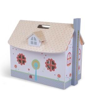 Domeček pro panenky Elza bílý
