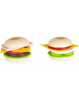 Dřevěný hamburger pro děti