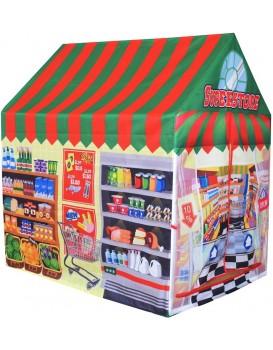 Dětský stan Supermarket EcoToys