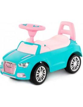 Dětské odrážedlo SuperCar Sport Ladies tyrkysové/růžové