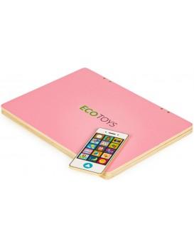 Dětský edukační laptop TWIGY růžový