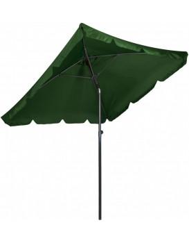 Zahradní slunečník Skos 200x200 cm zelený