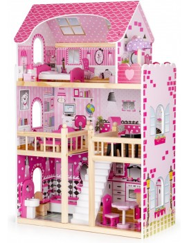Dřevěný domek pro panenky Rezidence Maryland EcoToys