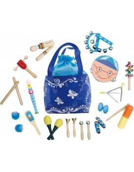 Sada 16 hudebních nástrojů pro děti + taška Butterfly