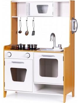 Dřevěná kuchyňka pro děti ECOTOYS