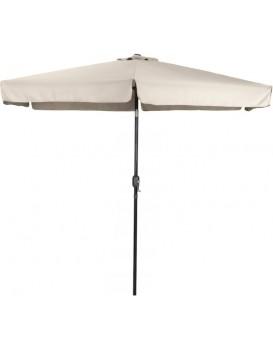 Zahradní deštník s rukojetí 300 cm béžový