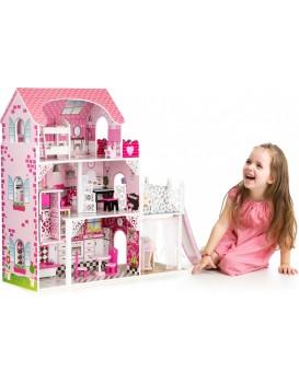 Dřevěný domek pro panenky Rezidence New Jersey EcoToys