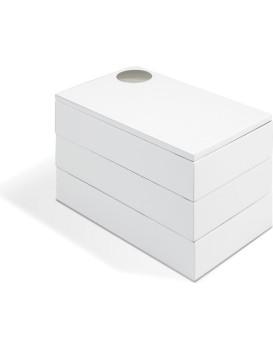 Šperkovnice Very bílá