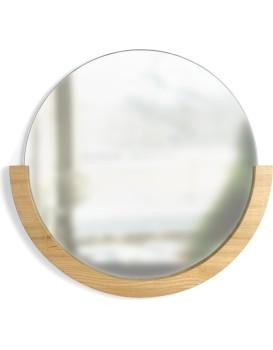 Kulaté zrcadlo Mira přírodní