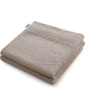 Bavlněný ručník AmeliaHome AMARI béžový