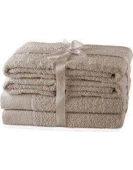 Set ručníků AmeliaHome Amary béžové