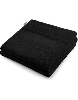 Bavlněný ručník AmeliaHome AMARI černý
