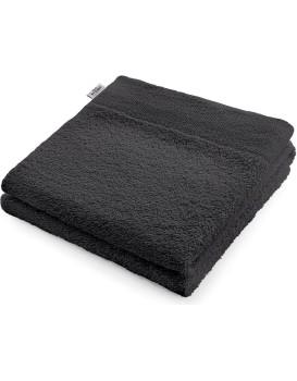 Bavlněný ručník AmeliaHome AMARI tmavě šedý
