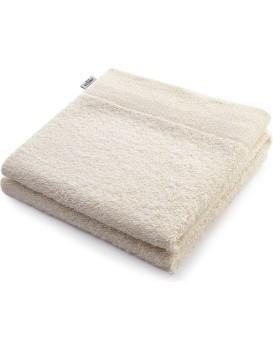 Bavlněný ručník DecoKing Berky ecru