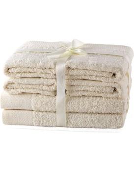 Set ručníků AmeliaHome Amary ecru