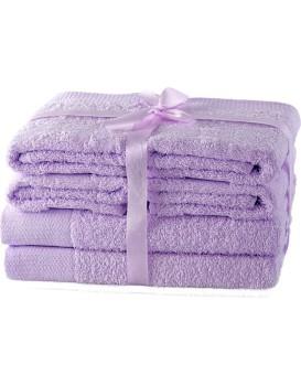Set ručníků AmeliaHome Amary lila