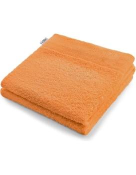 Bavlněný ručník AmeliaHome AMARI oranžový