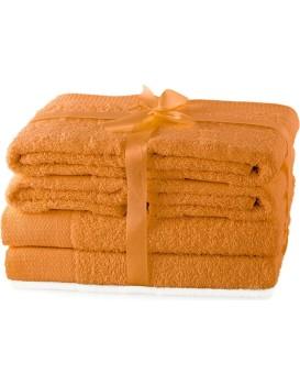 Set ručníků AmeliaHome Amary oranžové