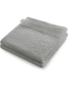 Bavlněný ručník DecoKing Berky šedý
