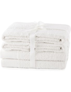 Set ručníků AmeliaHome Amary bílé