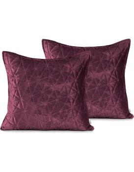 Povlaky na polštáře AmeliaHome Laila I fialové/fialovo růžové