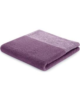 Bavlněný ručník AmeliaHome Aria fialový/švestkový