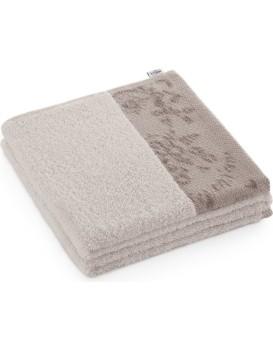 Bavlněný ručník AmeliaHome Crea béžový