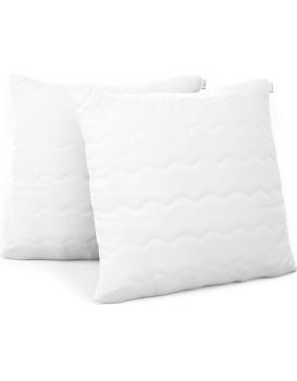Sada dvou polštářů AmeliaHome Reve 20 x 20 cm bílá