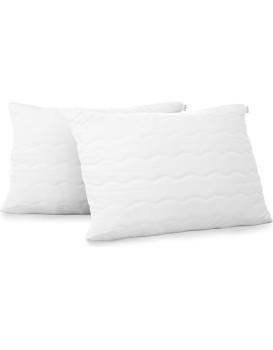 Sada dvou polštářů AmeliaHome Reve 40 x 80 cm bílá