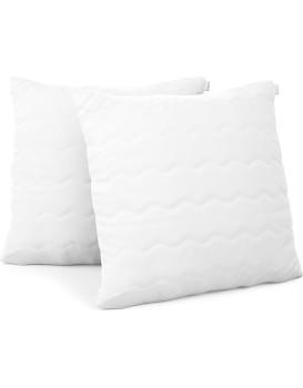Sada dvou polštářů AmeliaHome Reve 45 x 45 cm bílá
