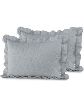 Povlaky na polštáře AmeliaHome Tilia šedé