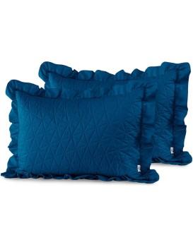 Povlaky na polštáře AmeliaHome Tilia I modré