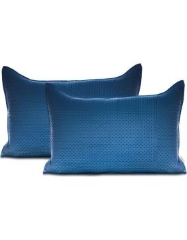 Povlaky na polštáře AmeliaHome Carmen I tmavě modré