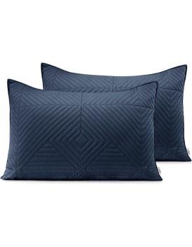 Povlaky na polštáře AmeliaHome Softa I tmavě modré/fialové
