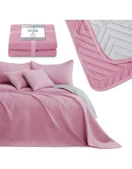 Přehoz na postel Sofia růžový