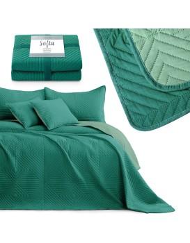 Přehoz na postel AmeliaHome Softa zelený