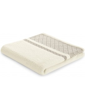 Bavlněný ručník AmeliaHome Volie krémový
