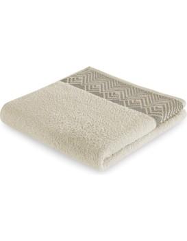 Bavlněný ručník AmeliaHome Aledo béžový